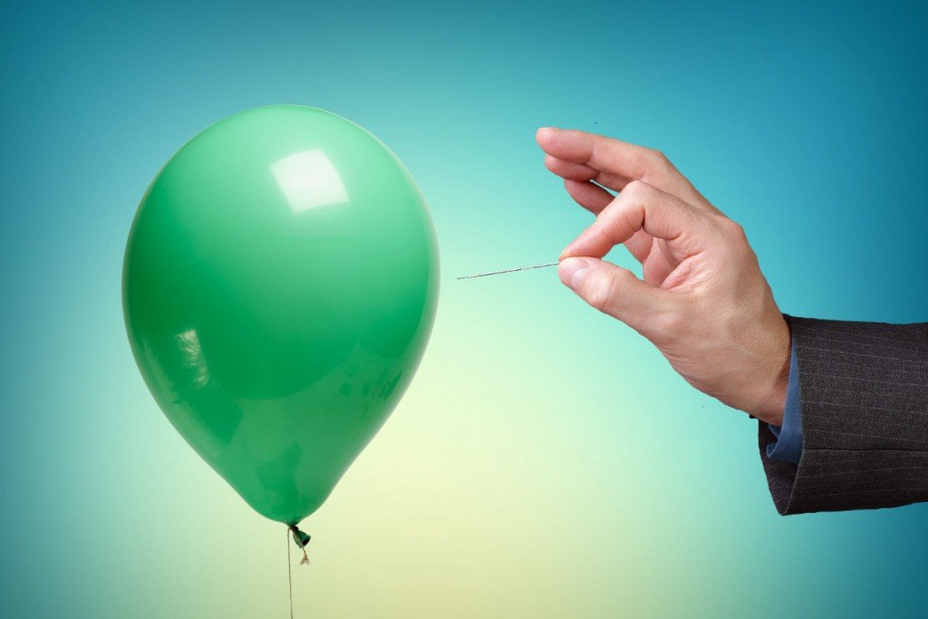 Popping-balloon-by-needle